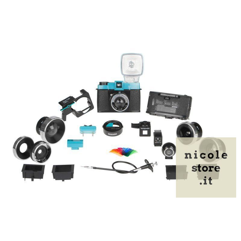 Diana F+ Deluxe kit by Lomography