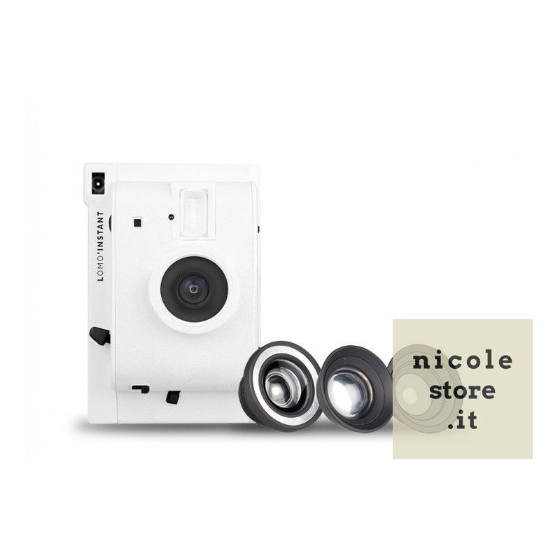 Lomo'Instant White Edition +3 lenti by Lomography