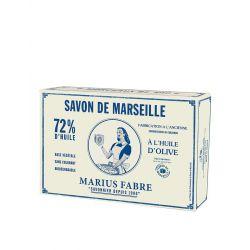 Cofanetto di 6 cubi di sapone 400gr all'olio d'oliva NATURE by Marius Fabre