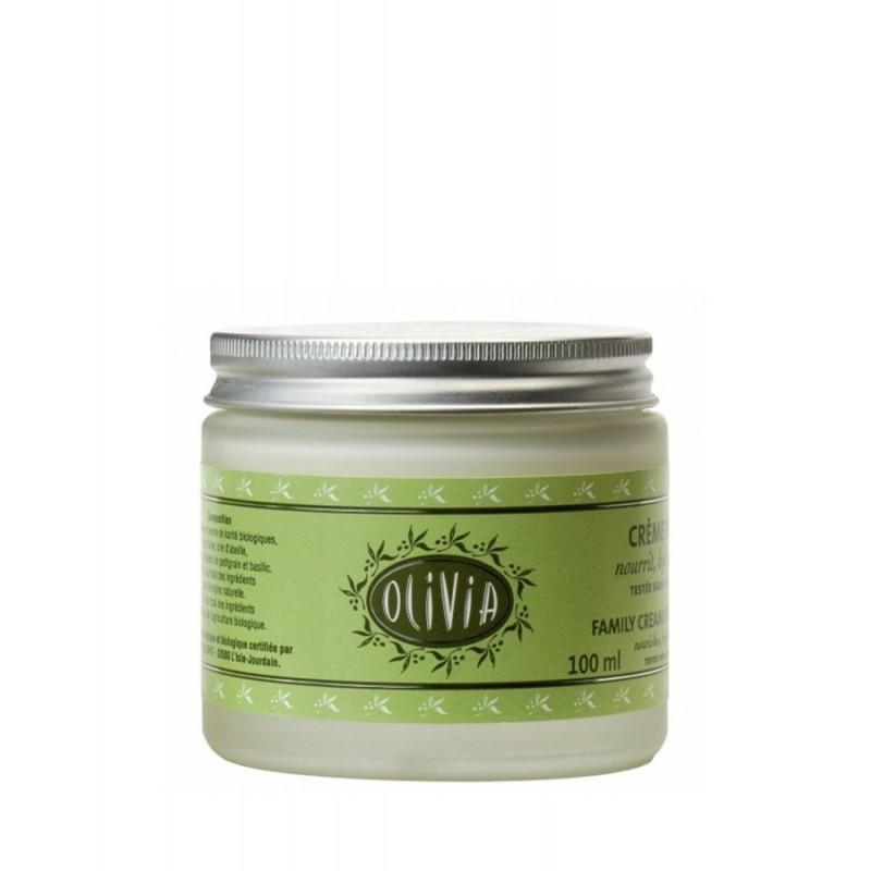 Crema idratante biologica certificata all'olio d'Oliva e burro di Karité 100ml Olivia by Marius Fabre
