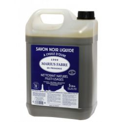 Marius Fabre Original Black Soap - Marius Fabre Savon Noir - Olive Oil Based - 5L tank format by Marius Fabre