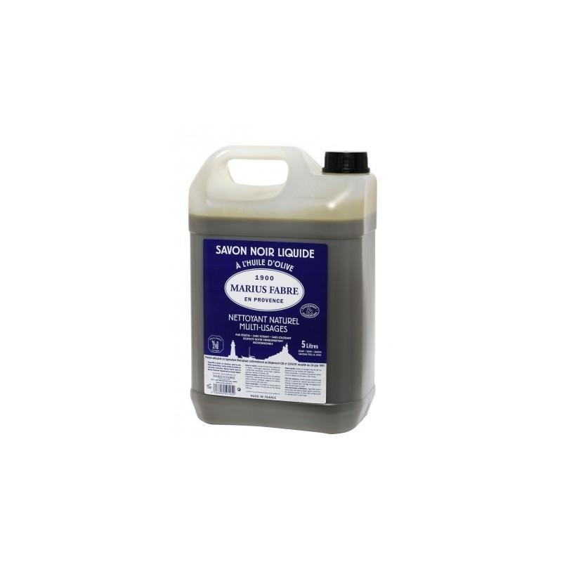 Sapone nero di marsiglia liquido in tanica da 5l by marius fabre nicole design store - Sapone liquido fatto in casa ...