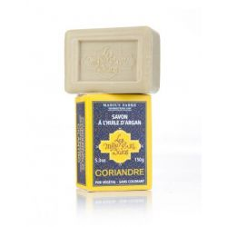 Coriander flavored Argan Oil soap (150 gr) by Marius Fabre