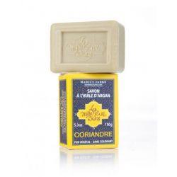 Saponetta all'olio d'Argan aromatizzata al Coriandolo (150gr) Les Mille et un Bains by Marius Fabre