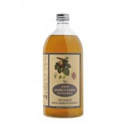 Marseille Liquid Soap figue flavored (1L) Herbier by Marius Fabre