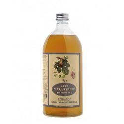 Marseille Liquid Soap figue flavored (1L) Herbier by Marius Fabre
