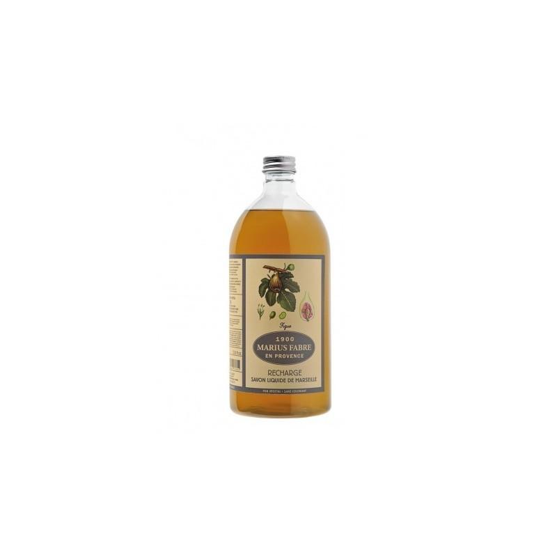 Sapone Liquido di Marsiglia aromatizzato al Fico (1L) Herbier by Marius Fabre