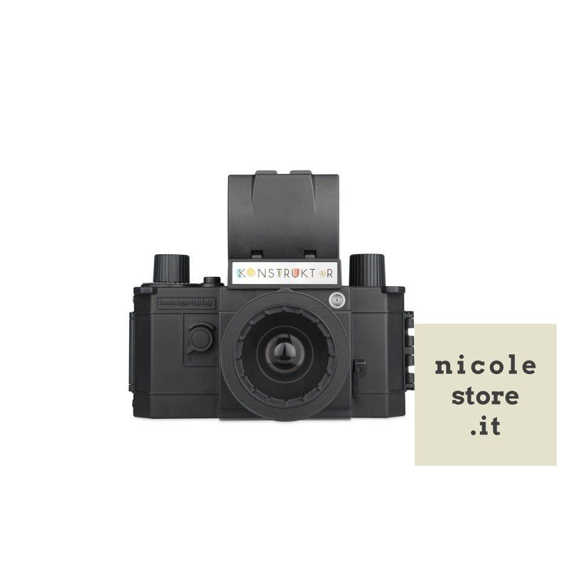 Konstruktor F Fllash DIY SLR Camera - fotocamera reflex DIY - by Lomography