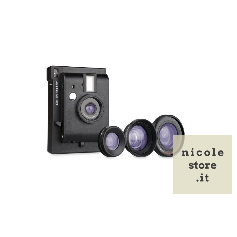 Lomo'Instant Black edition + 3 Lenti by Lomography