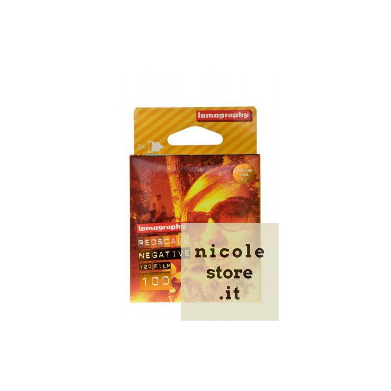 Lomography Redscale 100 ISO 120 mm (3 pack)