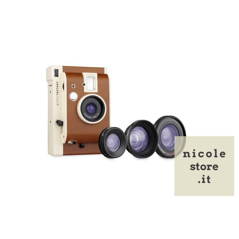 Lomo'Instant Sanremo + 3 lenses by Lomography