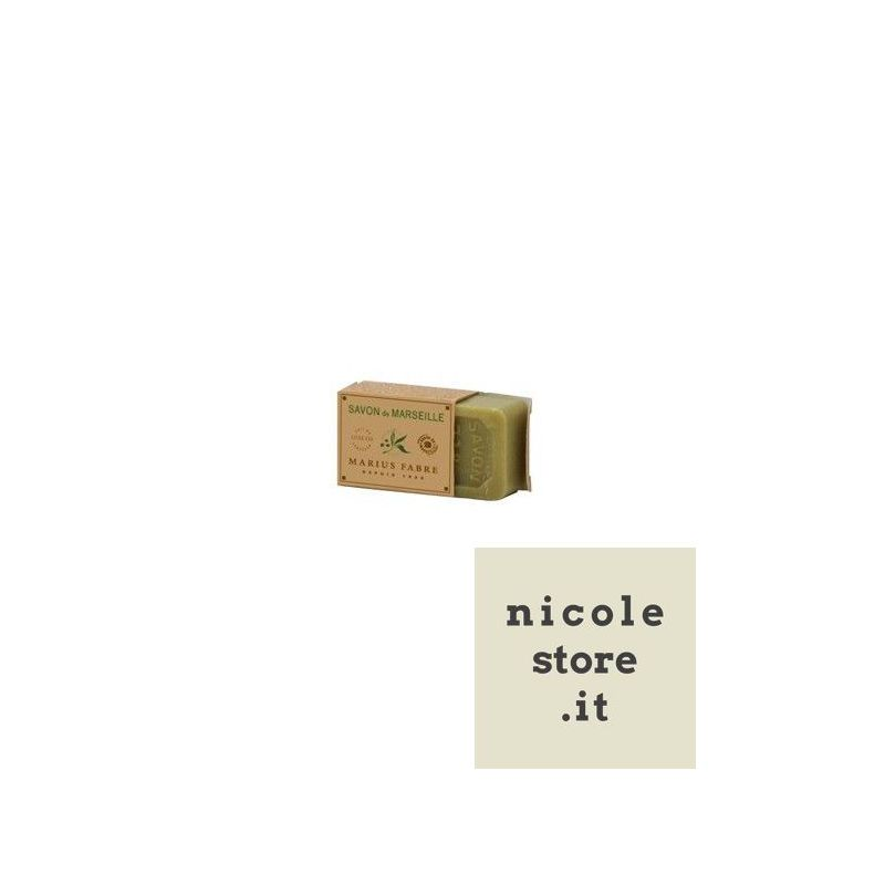 Guest Soap of pure Marseille soap with 72% of olive oil by Marius Fabre