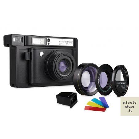 Lomo'Instant Wide Combo Lens & Splitzer Black Edition by Lomography