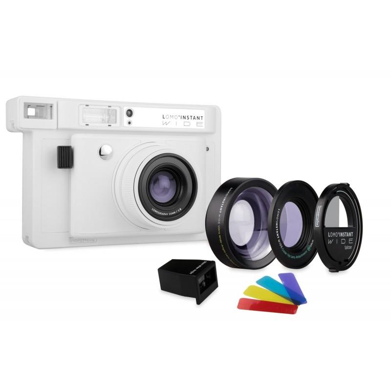 Lomo'Instant Wide Lens & Splitzer Black Edition by Lomography