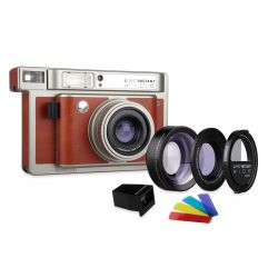 Lomo'Instant Wide Lens & Splitzer White Edition by Lomography