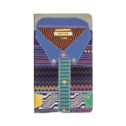 """Shirt"" notebook with hard cover 100% made in UK"