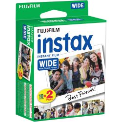 Fujifilm Instax Mini double pack - 20 scatti ISO 800 - by Fujifilm