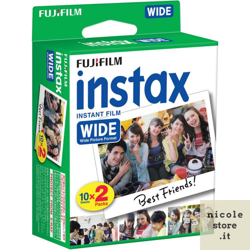 Fujifilm Instax Mini double pack - 20 exposures ISO 800 - by Fujifilm