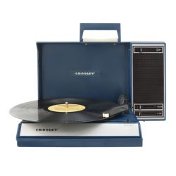 Giradischi USB Portatile Spinnerette con speaker integrati by Crosley