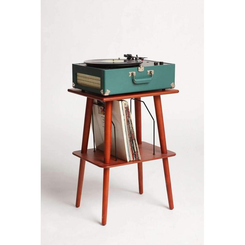 Tavolini Hi Fi : Crosley manchester paprika tavolino per giradischi by