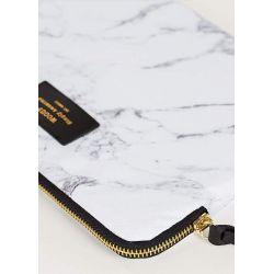 White Marble iPad Air Sleeve by Woouf!
