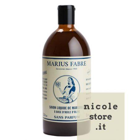 Sapone Liquido di Marsiglia Neutro per il Corpo (1L) NATURE by Marius Fabre