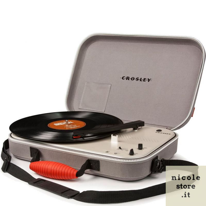 Crosley Messenger Portable Turntable with stereo speakers by Crosley