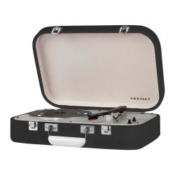 Giradischi Portatile Bluetooth Coupe Black by Crosley