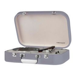 Giradischi Portatile Bluetooth Coupe Grey by Crosley