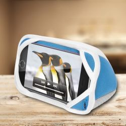 iLounge Mini - cuscino stand stile iMac BlueBerry per Smartphone - by Thumbsup