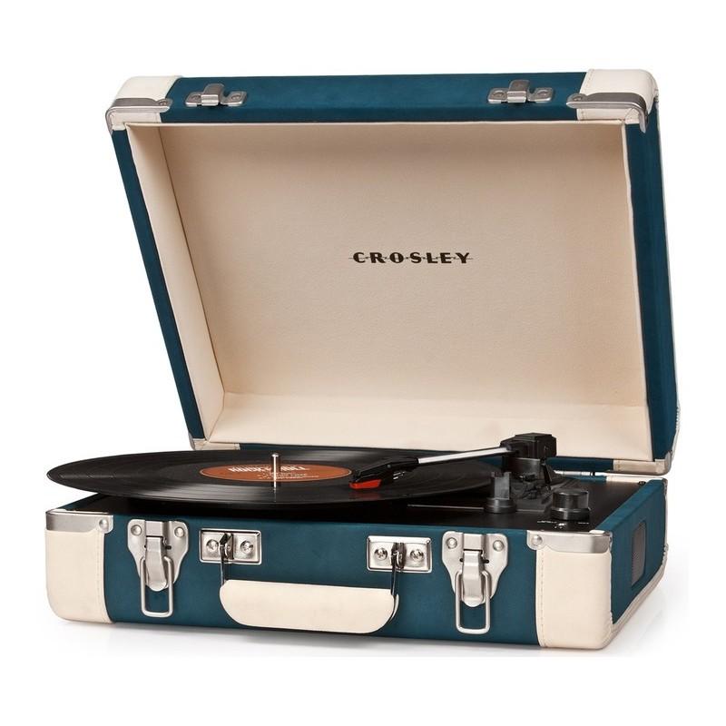 Crosley Executive Blue & Cream Giradischi USB Portatile Stereo by Crosley