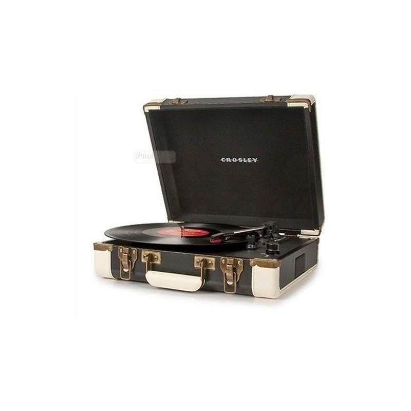 Crosley Executive Black & White Giradischi USB Portatile Stereo by Crosley