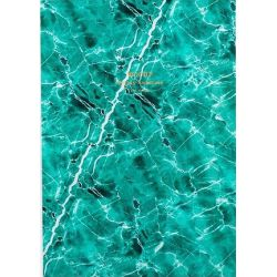Green Marble A5 Notebook by Woouf