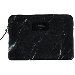 Black Marble iPad Air Sleeve by Woouf!