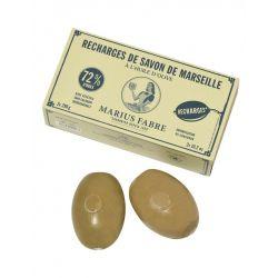 Ricarica per sapone di Marsiglia rotativo by Marius Fabre NATURE (2 x 290gr)