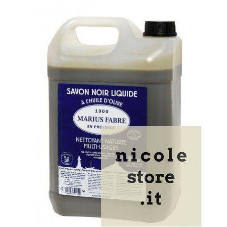 Sapone Nero Marius Fabre Multiuso Liquido di Marsiglia in tanica da 20L LAVOIR by Marius Fabre