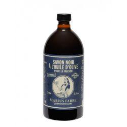 Marius Fabre Original Black Soap - Marius Fabre Savon Noir - Olive Oil Based - (1L) by Marius Fabre