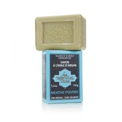 Peppermint flavored Argan Oil soap (150 gr) by Marius Fabre