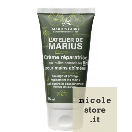 Intensive hand repair cream with organic olive oil and shea butter - L'ATELIER DE MARIUS - by Marius Fabre