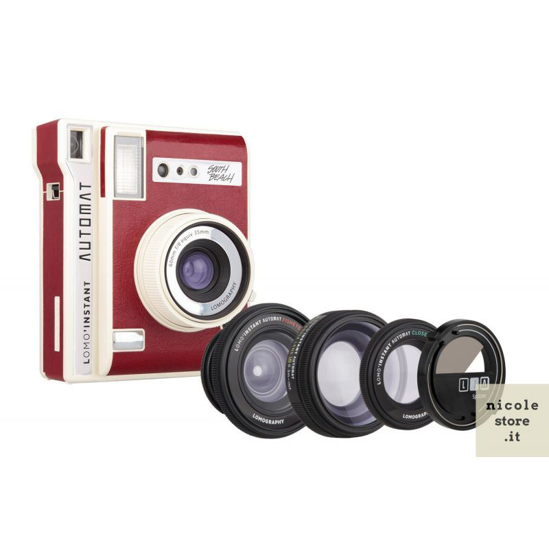 Lomo'Instant Automat & Lenses South Beach by Lomography