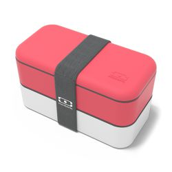 MB Original Corallo e Bianco - Corail - Lunch Box by Monbento
