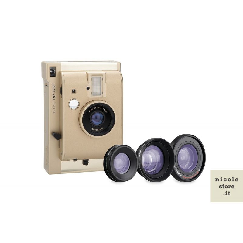 Lomo'Instant Yangon & Lenses by Lomography