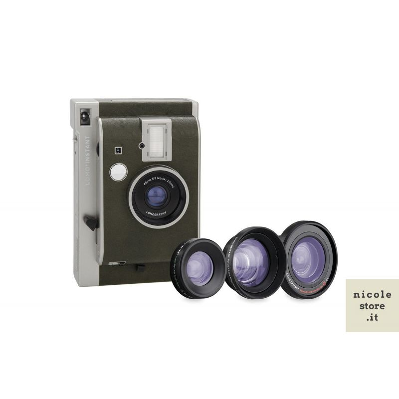 Lomo'Instant Oxford & Lenses by Lomography