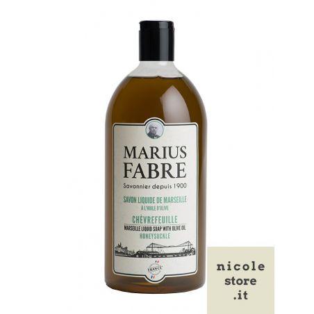 Marseille liquid soap honeysuckle flavoured (1L) 1900 by Marius Fabre