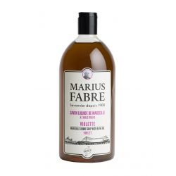 Marseille liquid soap violet flavoured (1L) 1900 by Marius Fabre
