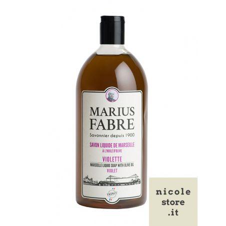 Marseille liquid soap violet flavoured (1L) 1900 by Marius Fabre