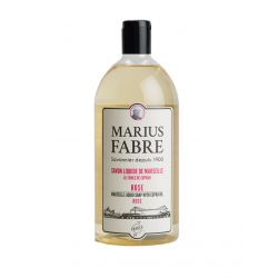 Marseille liquid soap rose flavoured (1L) 1900 by Marius Fabre
