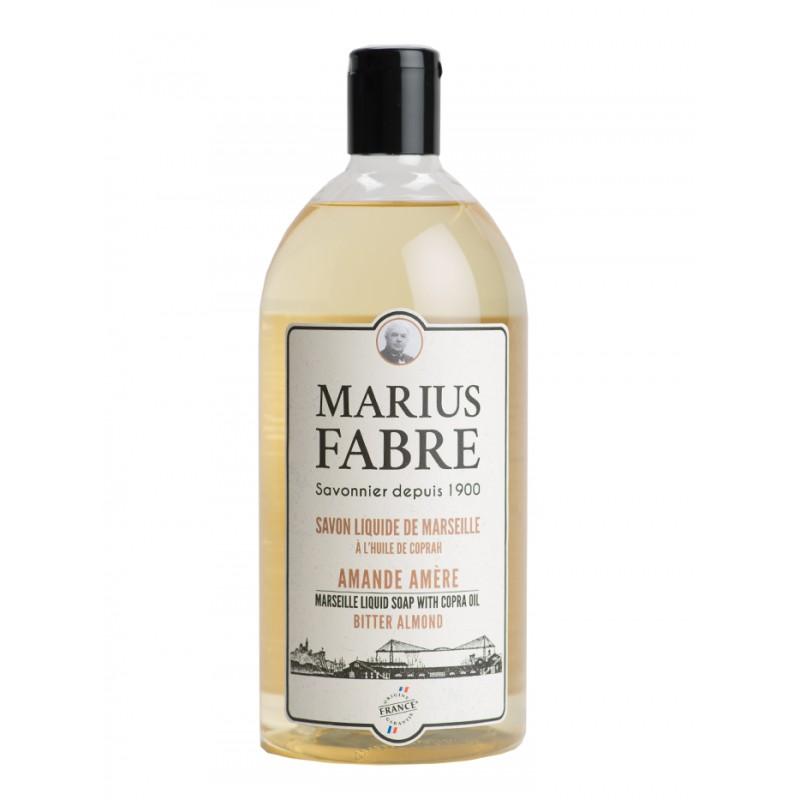 Sapone Liquido di Marsiglia alla Mandorla Amara (1L) 1900 by Marius Fabre