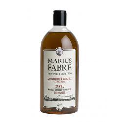 Sapone Liquido di Marsiglia aromatizzato al Sandalo (1L) Herbier by Marius Fabre