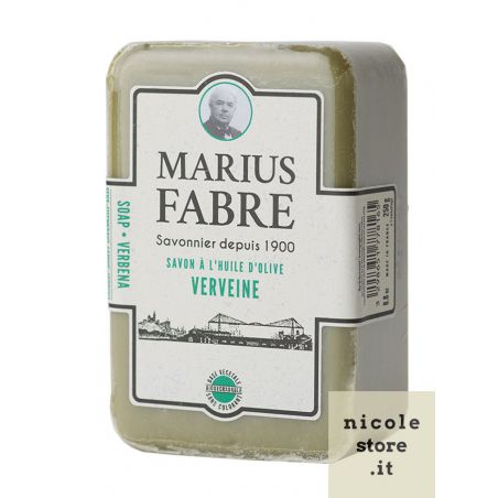 Marseille Verbena perfumed pure olive oil soap (250gr) 1900 by Marius Fabre